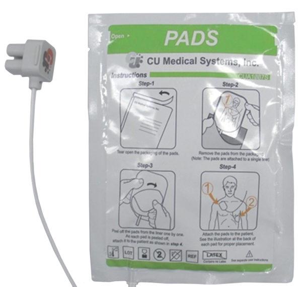 Electrodes adultes Def-NSI GUYANE SERVICE MEDICAL