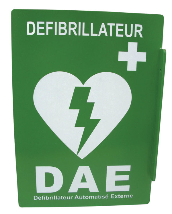 Signalétique murale DAE GUYANE SERVICE MEDICAL